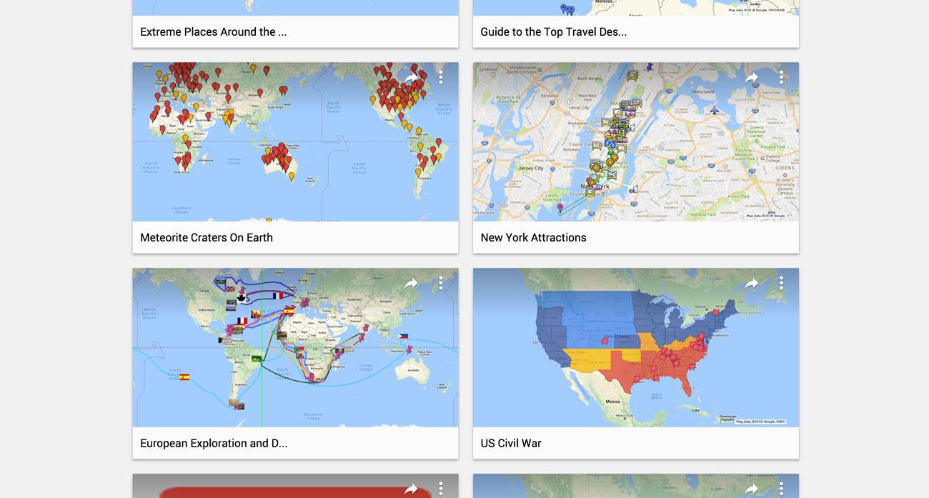 8e7cb930107 Google Maps låter dig göra dina egna kartor där du kan placera ut de bästa  platserna och skriva små förklaringar till.